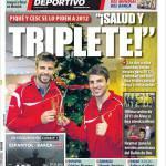 Mundo Deportivo: Saluti al triplete