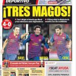 Mundo Deportivo: Tre maghi