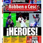 Mundo Deportivo: Robben o Fabregas