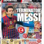 Mundo Deportivo: Terminator Messi