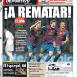 Mundo Deportivo: In alto