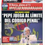 """Mundo Deportivo: """"Pepe gioca al limite del codice penale"""""""