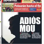 Mundo Deportivo: Addio Mou