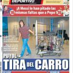 Mundo Deportivo: Puyol tira il carro