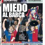 Mundo Deportivo: Paura del Barça