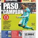 Mundo Deportivo: Passo da campione