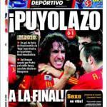 Mundo Deportivo: Puyolazo! In finale