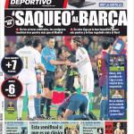 Mundo Deportivo: Saccheggi al Barcellona