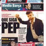 Mundo Deportivo: Continua Pep