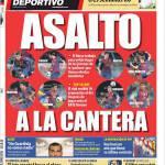 Mundo Deportivo, Assalto a la Cantera