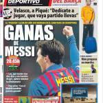 Mundo Deportivo: Vincere con Messi