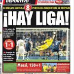 Mundo Deportivo: Hay Liga!