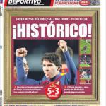 Mundo Deportivo: Storico!