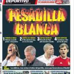 Mundo Deportivo: Incubo bianco