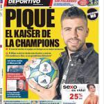 Mundo Deportivo: Piquè, il Kaiser della Champions