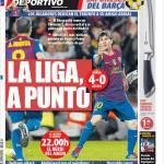 Mundo Deportivo: La Liga a un punto