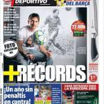 Mundo Deportivo: Più records