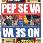 Mundo Deportivo: Pep se ne va