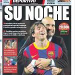 Mundo Deportivo: La sua notte