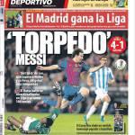 Mundo Deportivo: Torpedo Messi