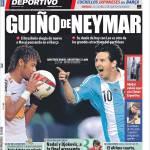 El Mundo Deportivo: Messi contro Neymar