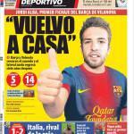 Mundo Deportivo: Jordi Alba è il primo acquisto del Barcellona di Vilanova