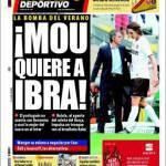 Mundo Deportivo: Mou chiede Ibrahimovic
