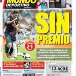El Mundo Deportivo: Senza premio