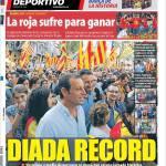 El Mundo Deportivo: Giorno storico