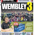 Mundo Deportivo: Wembley 3