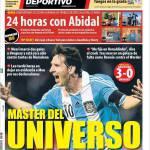 Mundo Deportivo: Master dell'universo