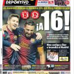 Mundo Deportivo: Più 16
