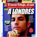 Mundo Deportivo: Cesc a Londra