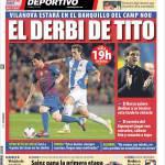 Mundo Deportivo: Il derby di Tito