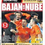 Mundo Deportivo: Giù dalla nuvola