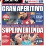 Mundo Deportivo: Grande apertivo