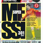 Mundo Deportivo: Super Messi, 301 gol
