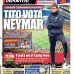 Mundo Deportivo: Tito vota Neymar