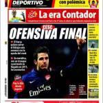 Mundo Deportivo: Cesc, offensiva finale