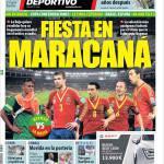 Mundo Deportivo: Festa al Maracanà
