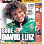 Mundo Deportivo: Su David Luiz
