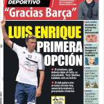 Mundo Deportivo: Vilanova lascia, Luis Enrique prima opzione