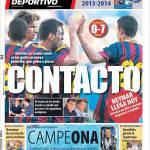 Mundo Deportivo: Contatto
