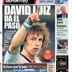 Mundo Deportivo: David Luiz a un passo