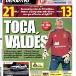 Mundo Deportivo: Tocca a Valdes