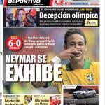Mundo Deportivo: Neymar si mostra