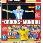 Mundo Deportivo: Le crepe del Mondiale