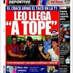 Mundo Deportivo: Leo è arrivato in alto