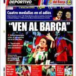 Mundo Deportivo: Vengo al Barcellona