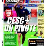 Mundo Deportivo: Cesc più un mediano